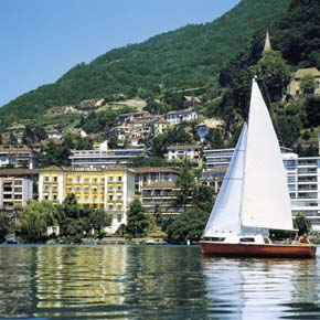 Lake Geneva Switzerland. You can be there with a rail tour holiday Europe