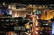 Las Vegas Bright Lights and the chance to win a fortune. The perfect departure point for a visit to the Grand Canyon. You can be there with a twin centre holiday USA